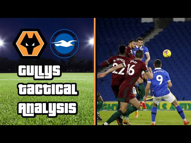Brighton 3-3 Wolves | Gully's Tactical Analysis