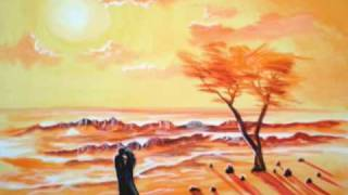 HOW TO PAINT A ROMANTIC SUNSET PAINTING