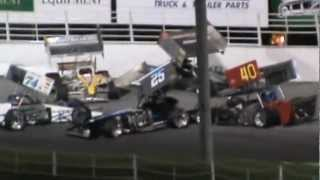 ISMA Supermodifieds Oswego Speedway Race of Champions Wkend Feat. Pt.1