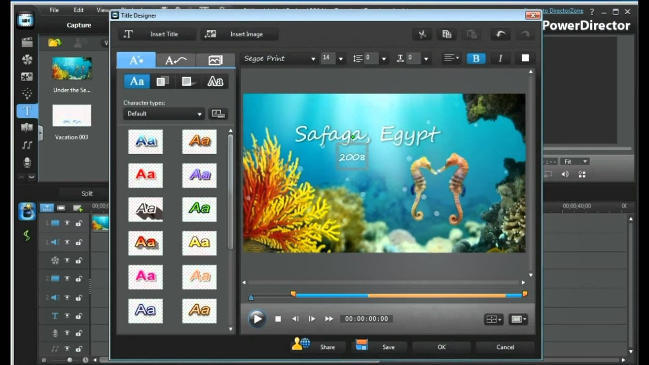 powerdirector slideshow templates download cyberlink powerdirector 9 templates youtube