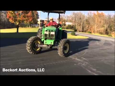 Lot 128 Fall Consignment -  2003 John Deere 5220 Tractor