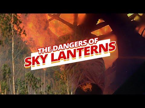 The DANGERS Of Flying Sky Lanterns