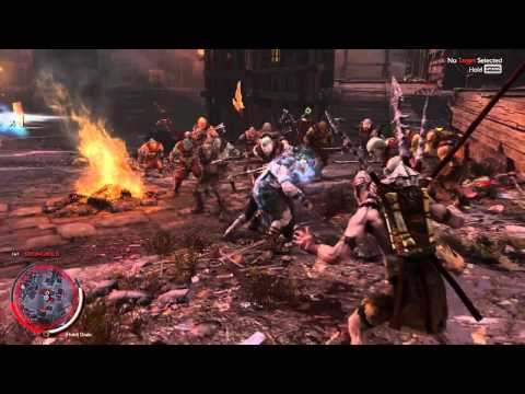 Middle Earth Shadow of Mordor: Montage