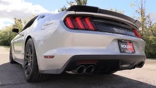 Pure Sound: 2017 Roush Stage 3 Mustang - Active Exhaust Review, Track Experience, Cold Start & More!