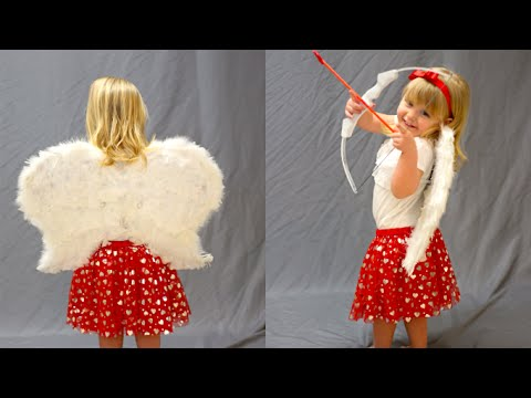 How To Make A Cupid Costume! - YouTube