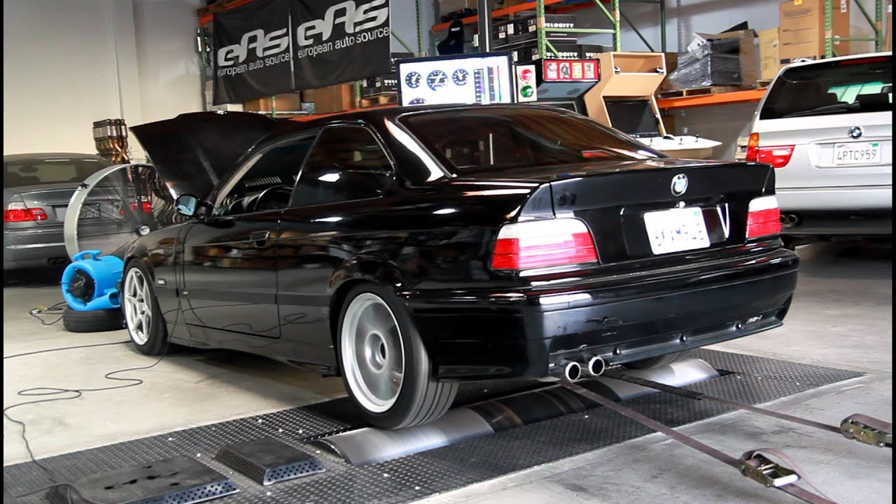 1995 BMW E36 325is dyno   YouTube