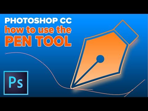 How to Use the Pen tool in Photoshop. Quick start guide