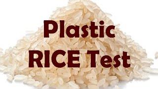 """Gesundheit: Vorischt vor """"Plastik"""" im Reis !"""