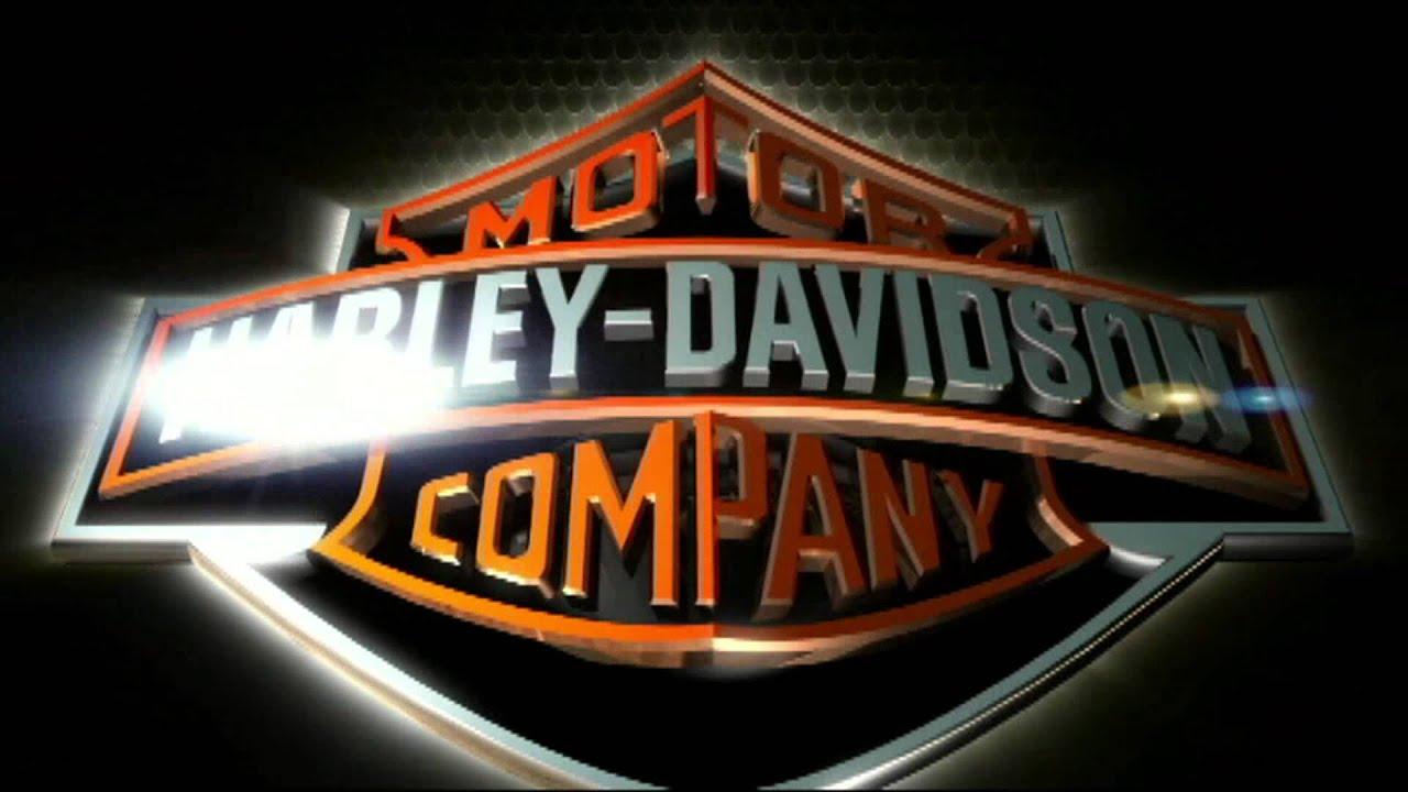 Harley Davidson Logo D Model