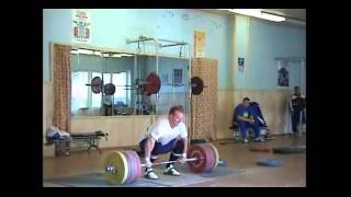 Gleb Pisarevskiy 255kg Clean