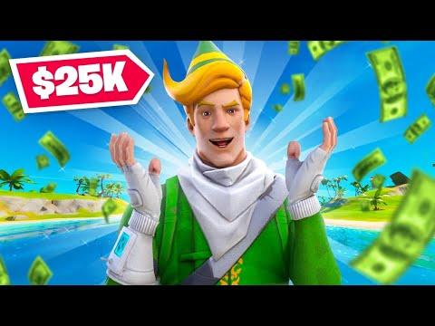 We *WON* $25,000... On 200+ Ping