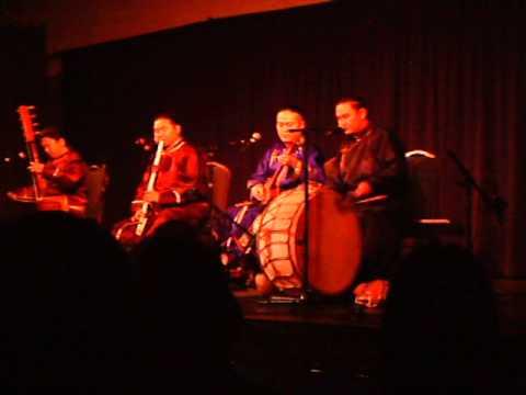 "Tuvan Throat Singers ""Alash"" live at the Rotunda in Philadelphia"