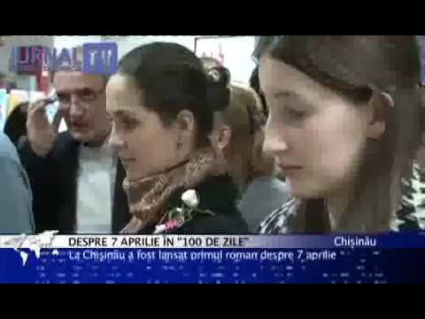 Dorin Chirtoacă citeşte 100 DE ZILE la Jurnal TV