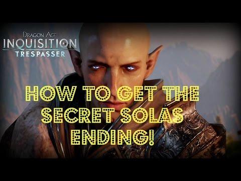 Dragon Age: Inquisition - Trespasser DLC: How to Get the Secret Solas Ending