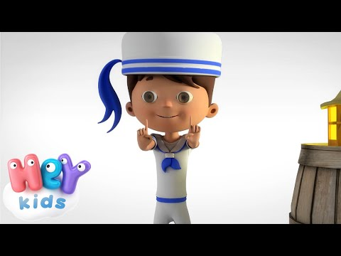 HeyKids – The Little Sailor – Body Parts Song for children by HeyKids – Cantece pentru copii in limba engleza