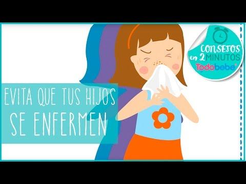 Evita que tus hijos se enfermen