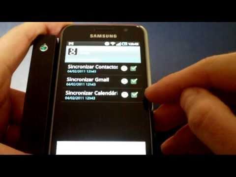 Como sincronizar contactos Gmail com Smartphone Android