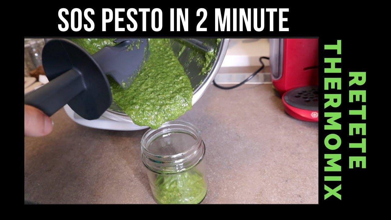 Sos Pesto - Retete Thermomix