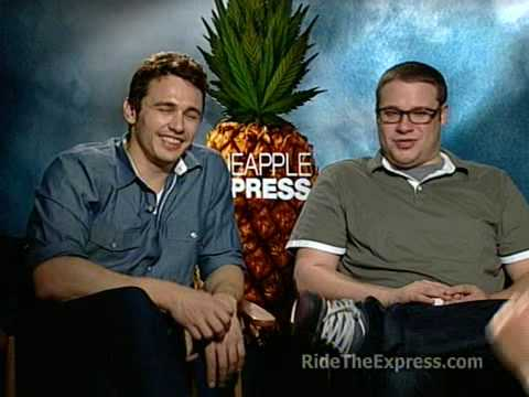 James Franco, Seth Rogen - 'Pineapple Express'. Interview- 2008