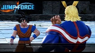 Goku vs All Might(Story Mode) - Jump Force