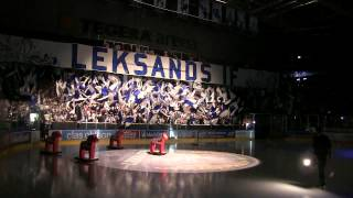 Tifo Leksand-Timrå 2015-09-11