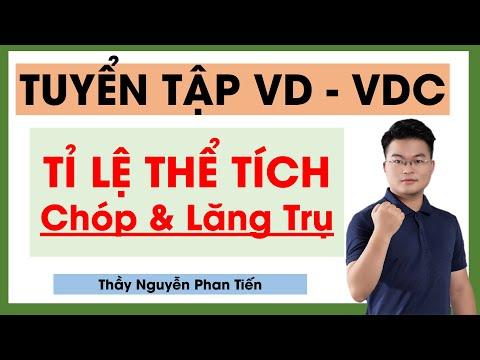 Tỉ Lệ Thể Tích Chóp & Lăng Trụ VD - VDC || Thầy Nguyễn Phan Tiến