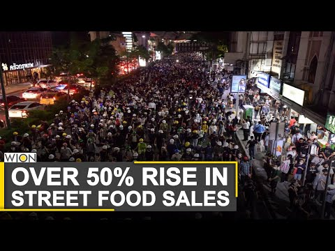 Thailand Protests: Rocket-high sales for street vendors in Thailand | World News | WION News
