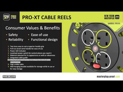 Masterplug Pro-XT Cable Reels