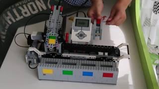 LEGO Mindstorms EV3 Color Sorter - Лего Майндстормс Цветовой Сортировщик