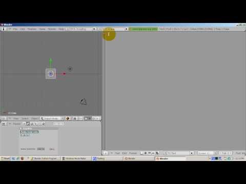Ira Krakow's Python Scripting Setup Blender 2.49b Tutorial