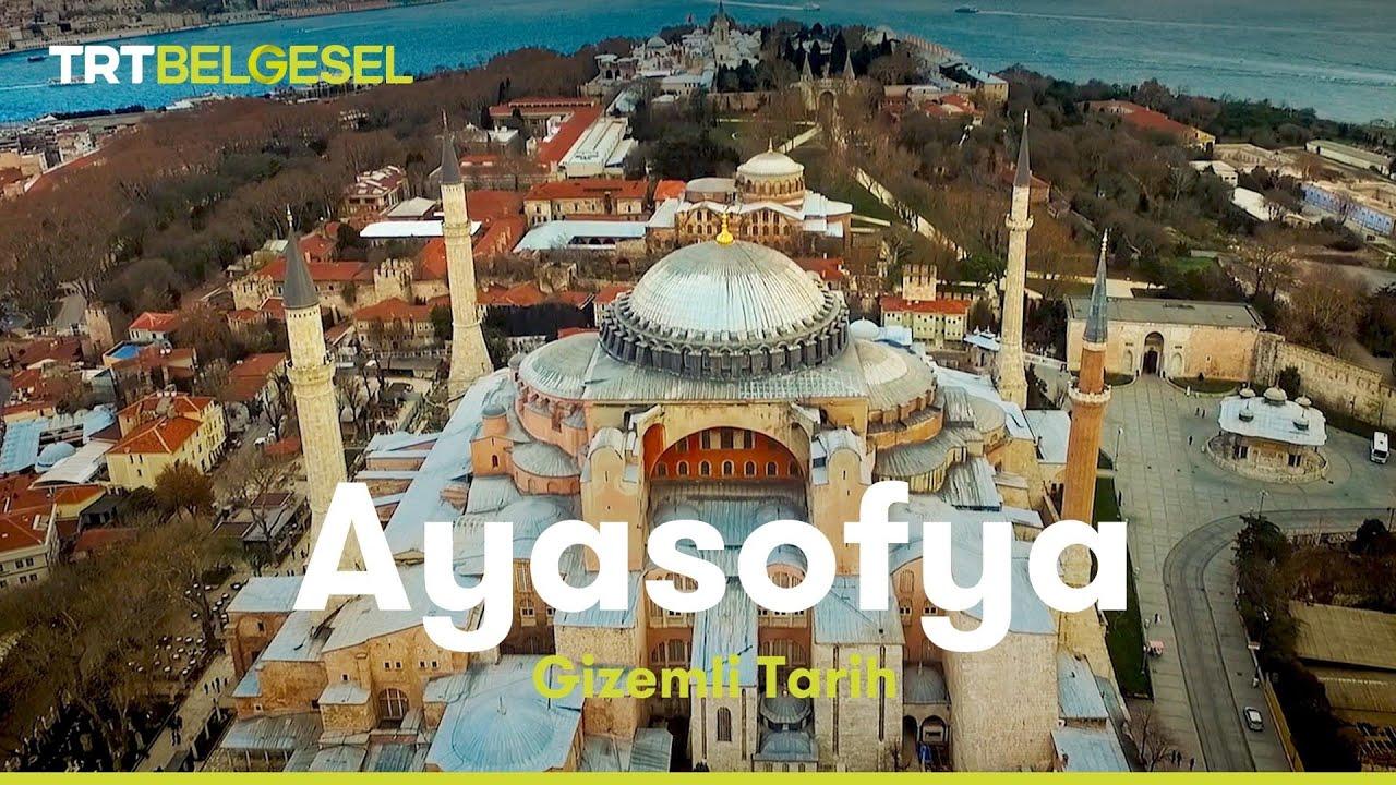 Ayasofya'nın 4 minaresinden, 4 müezzin birlikte ezan okudu