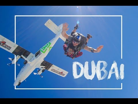 My First SkyDive Dubai 2018