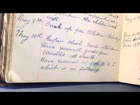 A picture of life from a school logbook - SDStreatley1/2