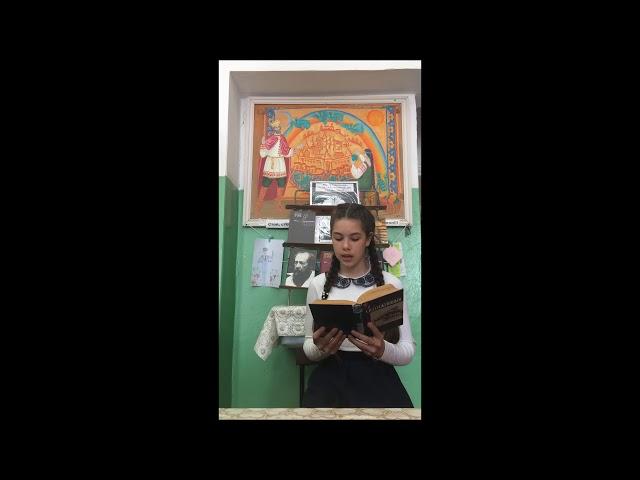 Изображение предпросмотра прочтения – АнастасияМожаева читает произведение «Крохотки:На родине Есенина» А.И.Солженицына