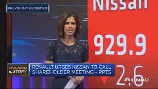 Nissan to hold first board meeting since Carlos Ghosn's arrest | Squawk Box Europe