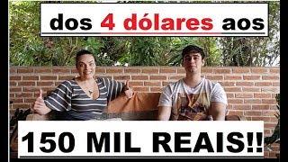 No FOREX, Aos 21 ANOS, ele TRANSFORMOU 4 DÓLARES EM 150 MIL REAIS !!