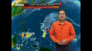Weather update as of 6:00 a.m. (April 16, 2018)