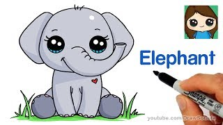How to Draw an Elephant Easy