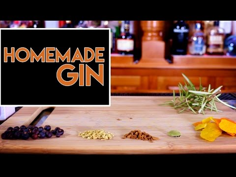 🌿🌿 Homemade Gin / DIY in 5 Minutes with Rapid Infusion