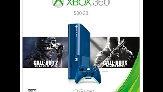 Unboxing: Limited Edition Blue 500GB Xbox 360 with Call of Duty!
