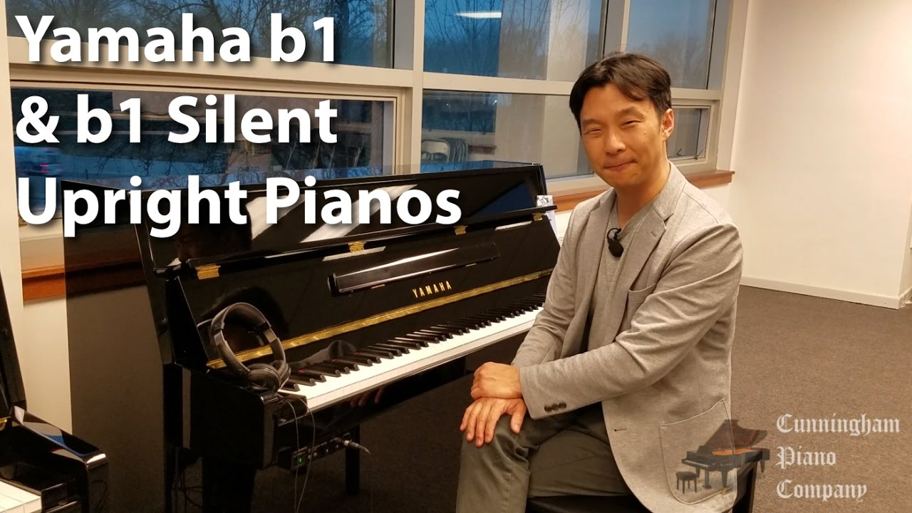 yamaha b1 and b1 silent upright pianos youtube. Black Bedroom Furniture Sets. Home Design Ideas
