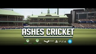 Ashes Cricket The Art of the Ashes Trailer   Ashes Cricket 2017    PS4   Extended Gameplay Trailer
