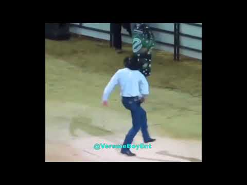 Cowboy dancing to Like A Farmer by Tracy