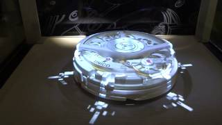The Unico Movement Manufactured By Hublot Is Alive At Hublot Boutique In Zürich.