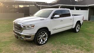 2019 Ram limited 4wd on 24x10 and 35 inch tires