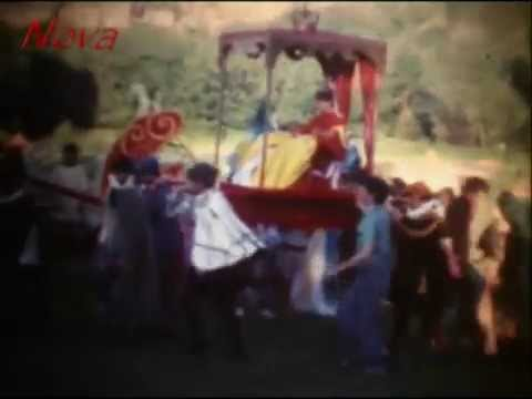 Battle at Conisbrough Castle - Super 8 archive cine film