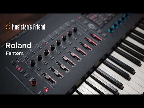 Roland Fantom Synthesizer/Workstation - Demo, Overview and Features