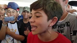Thiago  vs XAUK BATALHA DE RAP DO MUSEU - QUEM GANHOU ?