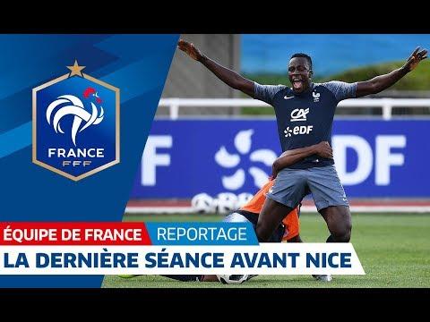 Equipe de France : La dernière séance des Bleus avant Nice I FFF 2018