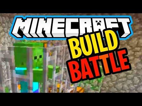 IZGRADIO SAM ZATVOR ( Minecraft Build Battle Pro )